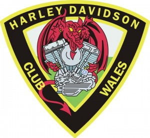 Harley Davidson Club Wales Patch