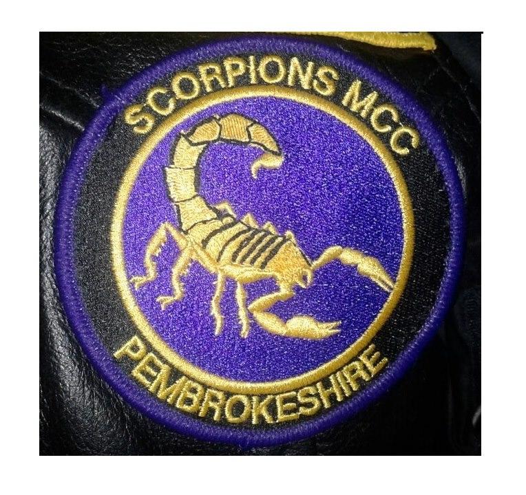 Scorpions MCC Pembrokeshire Patch